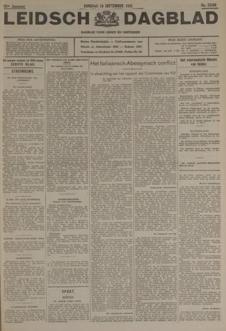 Leidsch Dagblad 1935-09-24