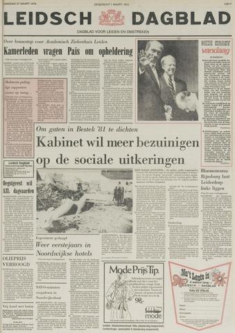 Leidsch Dagblad 1979-03-27