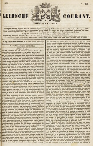 Leydse Courant 1872-11-09