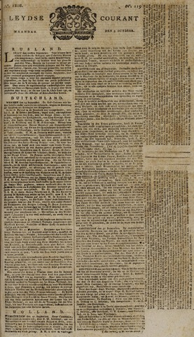 Leydse Courant 1808-10-03