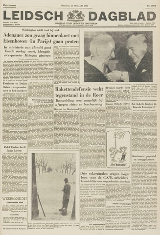 Leidsch Dagblad 1959-01-20