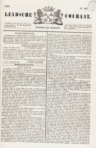 Leydse Courant 1865-08-30