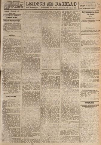 Leidsch Dagblad 1921-11-05