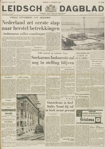 Leidsch Dagblad 1962-08-17