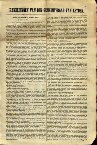 Handelingen van de Raad 1862-10-31