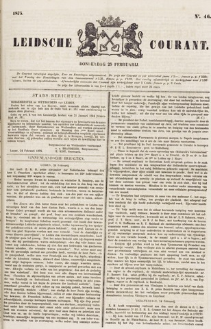 Leydse Courant 1875-02-25