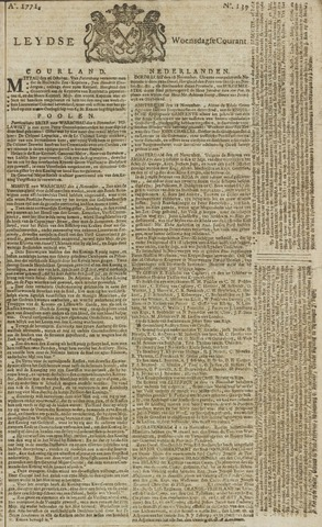 Leydse Courant 1771-11-20