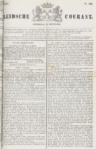 Leydse Courant 1871-09-21