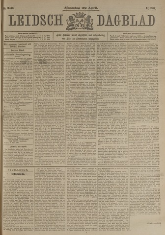 Leidsch Dagblad 1907-04-22