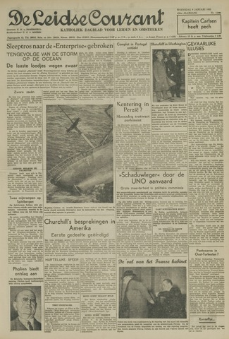 Leidse Courant 1952-01-09