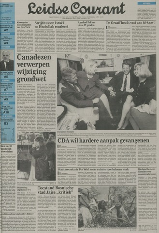 Leidse Courant 1992-10-27