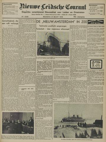 Nieuwe Leidsche Courant 1938-03-21