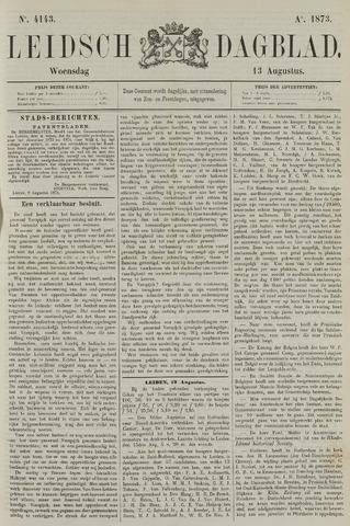 Leidsch Dagblad 1873-08-13