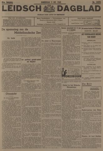 Leidsch Dagblad 1940-05-09