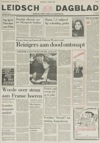Leidsch Dagblad 1982-01-21