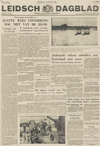 Leidsch Dagblad 1956-08-04