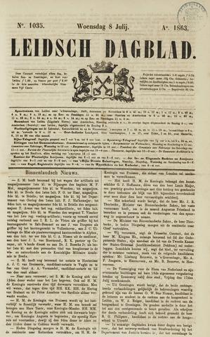 Leidsch Dagblad 1863-07-08