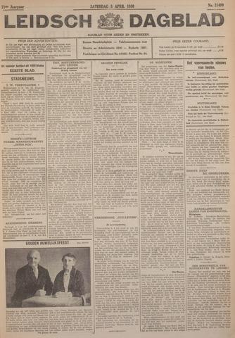 Leidsch Dagblad 1930-04-05