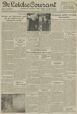 Leidse Courant 1949-02-17