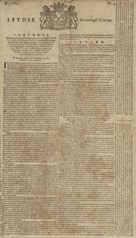Leydse Courant 1760-01-09