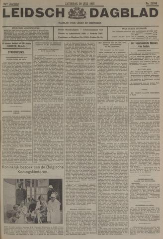 Leidsch Dagblad 1935-07-20
