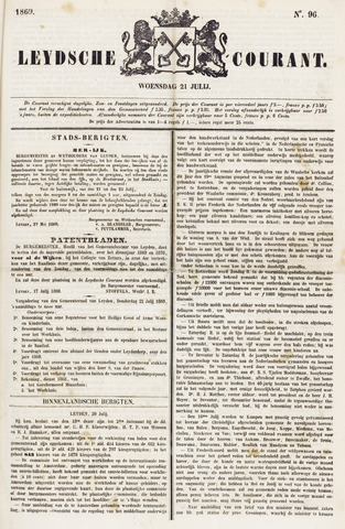 Leydse Courant 1869-07-21