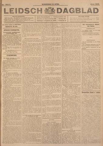 Leidsch Dagblad 1926-04-14