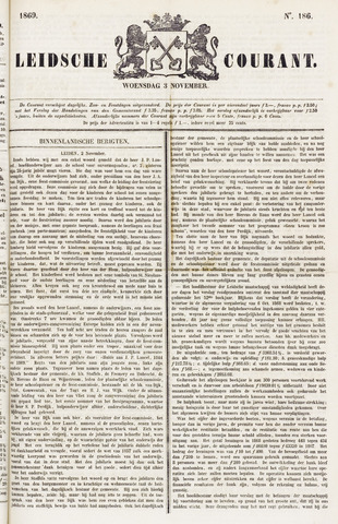 Leydse Courant 1869-11-03