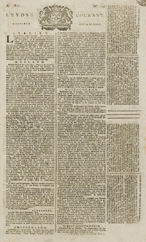 Leydse Courant 1817-10-29