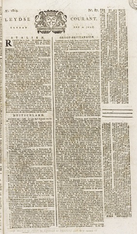Leydse Courant 1814-07-22