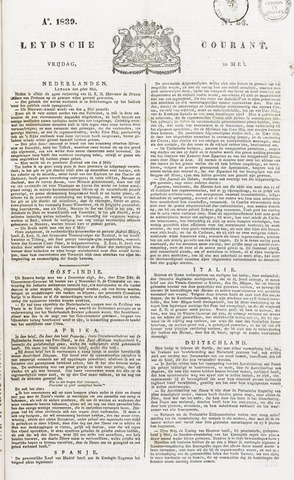 Leydse Courant 1839-05-10