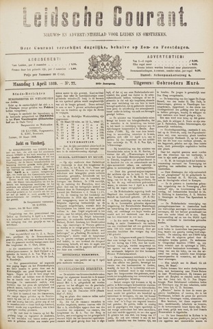 Leydse Courant 1889-04-01