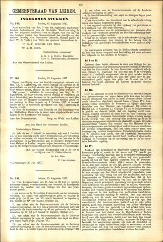 Handelingen van de Raad 1917-08-15