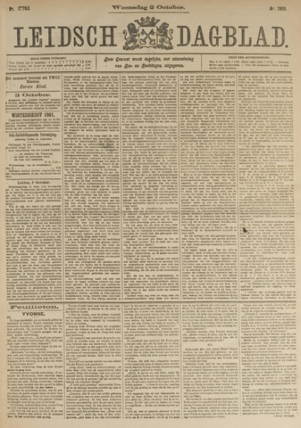 Leidsch Dagblad 1901-10-02