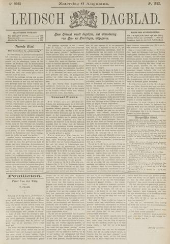Leidsch Dagblad 1892-08-06