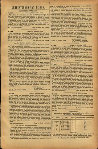 Handelingen van de Raad 1893-11-10