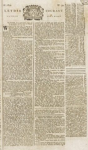 Leydse Courant 1814-03-11