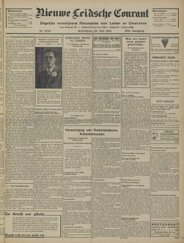 Nieuwe Leidsche Courant 1939-06-28