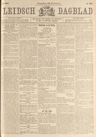 Leidsch Dagblad 1915-02-22
