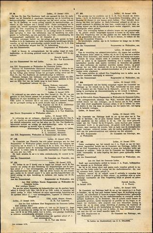 Handelingen van de Raad 1879-01-21