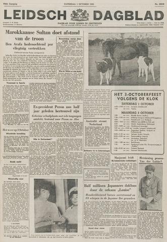 Leidsch Dagblad 1955-10-01