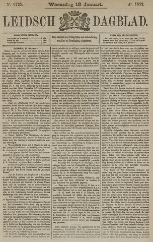 Leidsch Dagblad 1882-01-18
