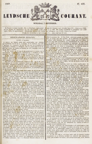 Leydse Courant 1869-09-07