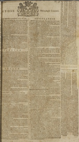 Leydse Courant 1772-04-27
