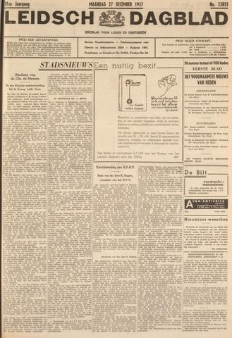 Leidsch Dagblad 1937-12-27