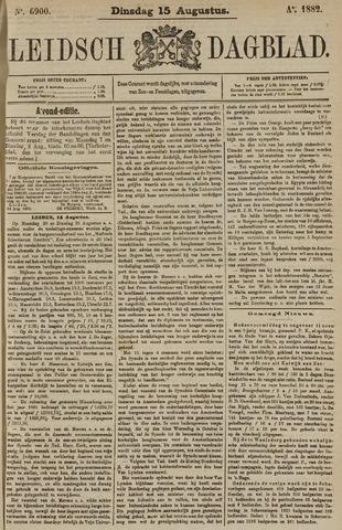 Leidsch Dagblad 1882-08-15