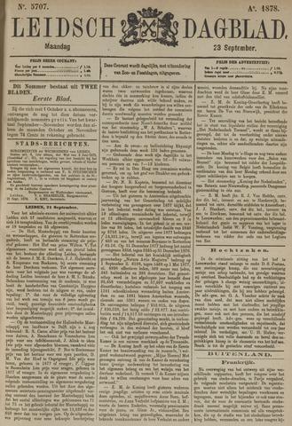 Leidsch Dagblad 1878-09-23
