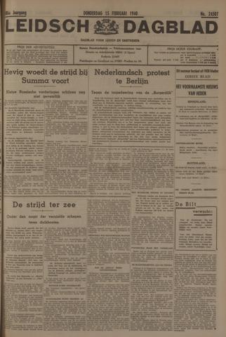 Leidsch Dagblad 1940-02-15