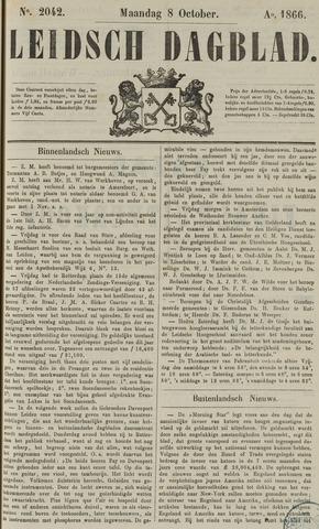 Leidsch Dagblad 1866-10-08