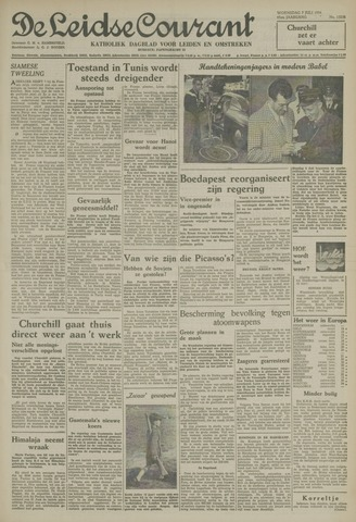 Leidse Courant 1954-07-07